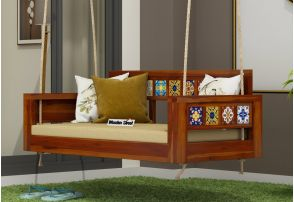 d8bdb538c Buy a perfect Wooden Swing Chair Online in India  Best Price