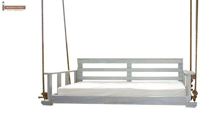 Herron Wooden Swing Chair(White Finish)-6