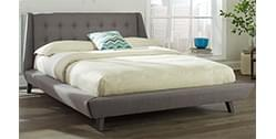 upholstered beds online india