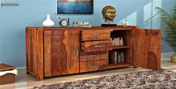 dining cabinet designs online Bangalore