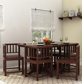 wooden dining set in Bangalore