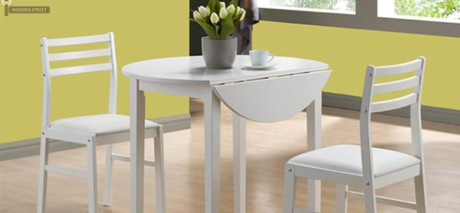 White Dining Set