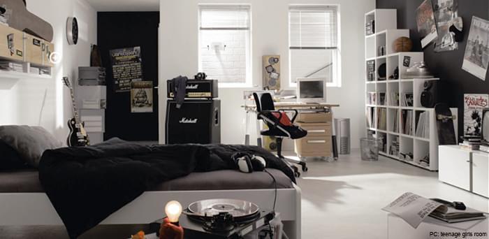 Modern Teens Room