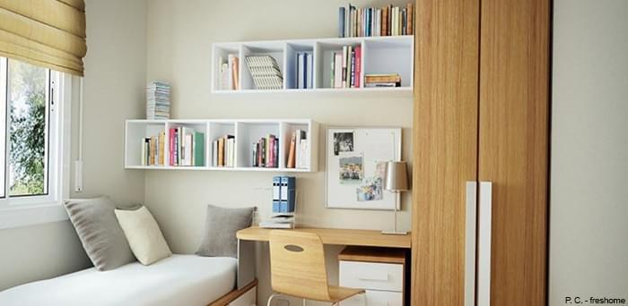 Wall Shelf in Room