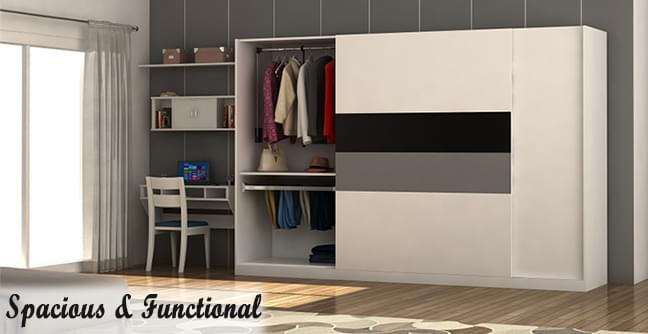 Modular Wardrobes for multi-utility