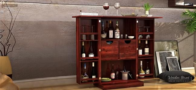 Wide collection of bar cabinets