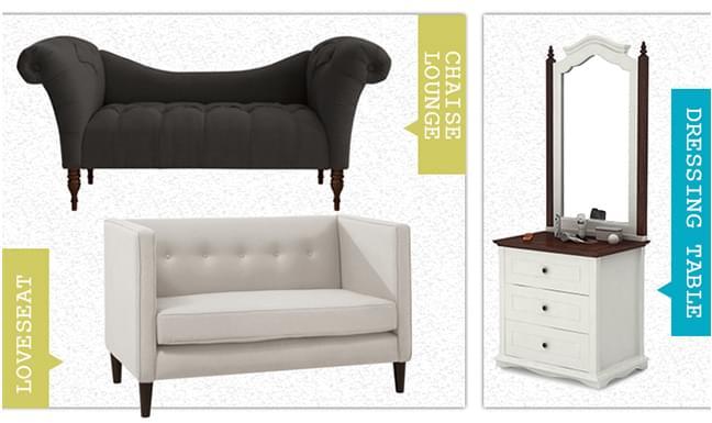 Wide range of bedroom furniture
