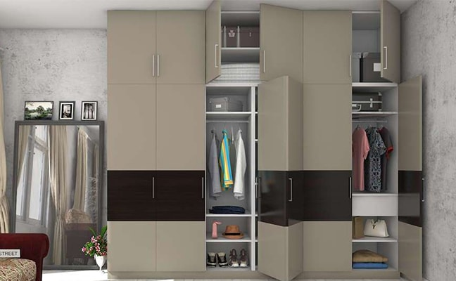 Buy Folding Door Wardrobes Online in Pune