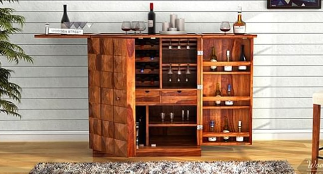 Buy Bar Cabinet Online in India
