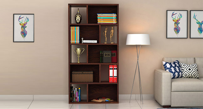 Buy Bookshelf Online in India