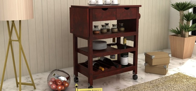 Buy Kitchen Trolleys online in Pune
