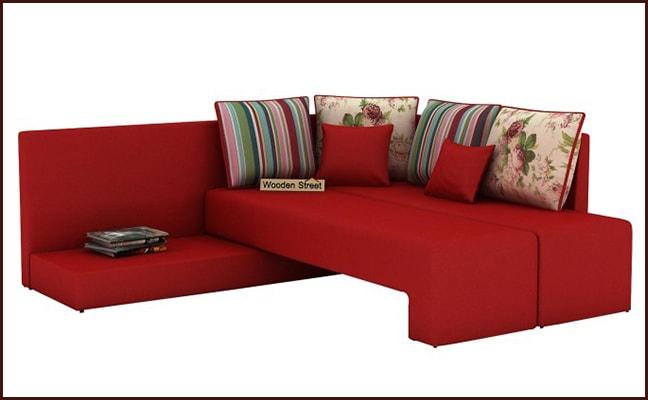 Buy L Shape Corner Sofa Online in jaipur