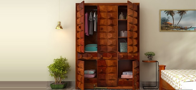 Buy Wardrobe Online in India
