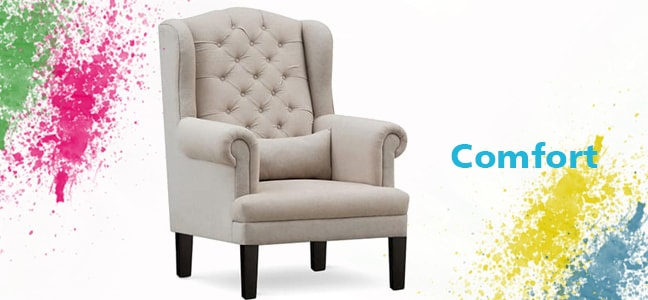 buy wing chair online in india