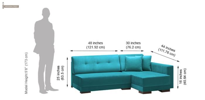 corner sofa dimensions