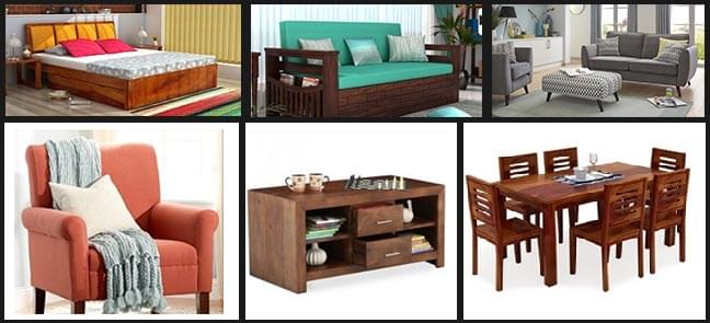 Customized Furnitures online
