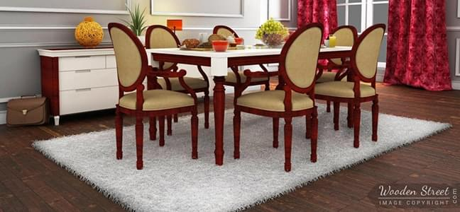 shop 6 seater dining table online