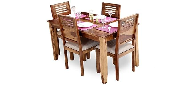 Shop for Wooden dining tables at Woodenstreet