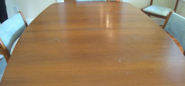 dining table wax