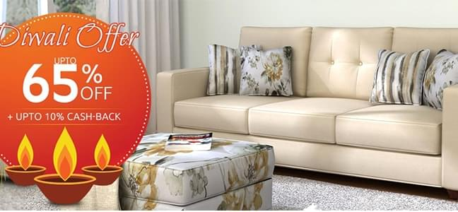 Fabric Sofas online in india