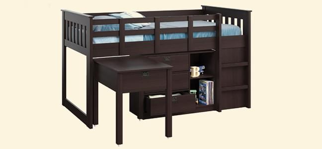 contemporary collection of kids beds online in india