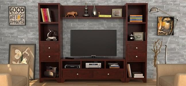 range of tv units