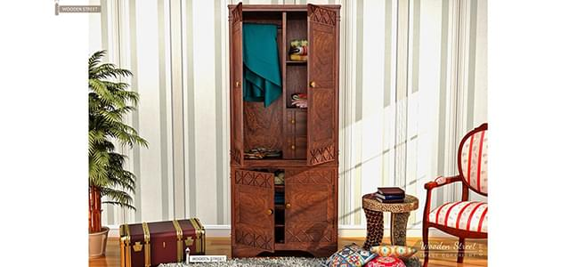 wooden wardrobes online india