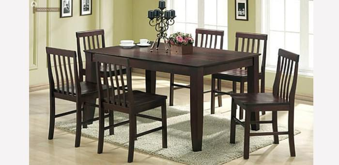six seater dining table set