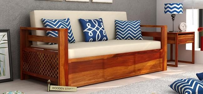 best sofa cum beds fabric designs
