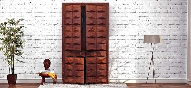 Stylish and well furnished wardrobes online in india