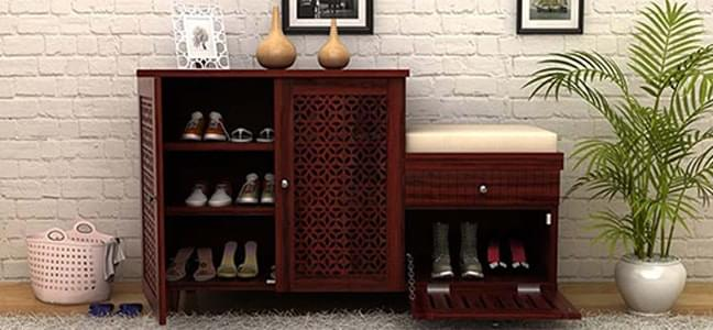 Wooden Shoe Rack Online