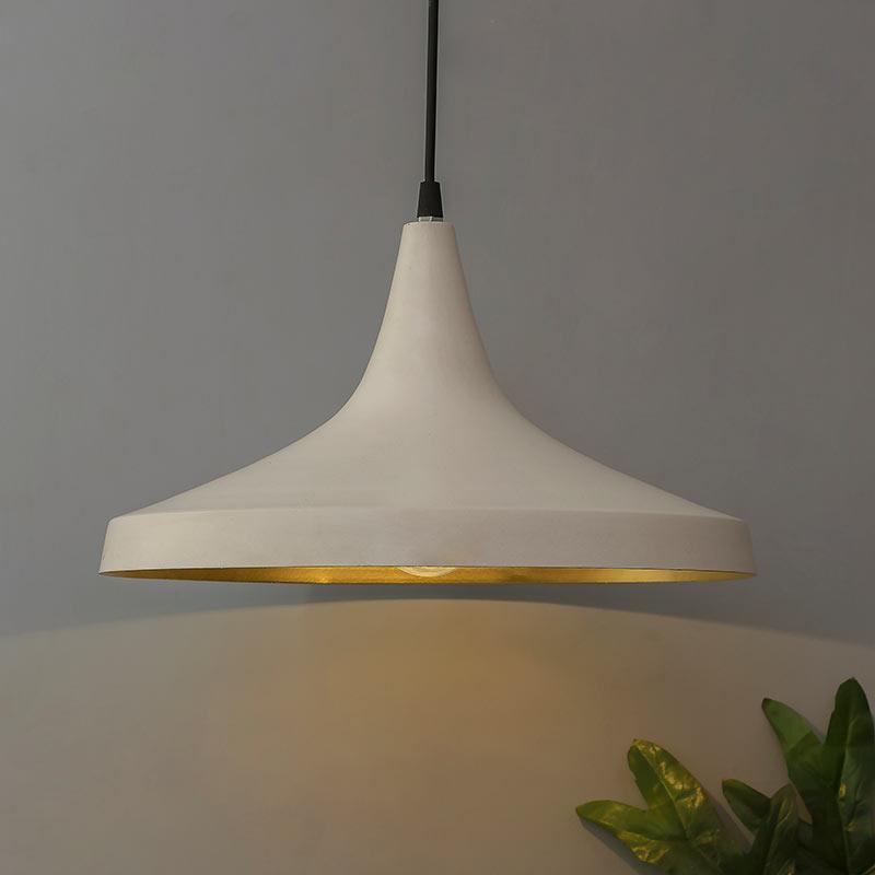 Buy Nordic Modern White Danish Shape Hanging Light Online
