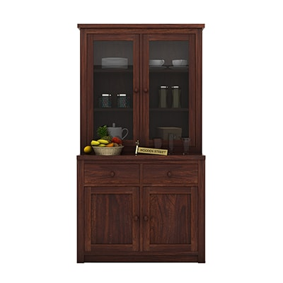 Buy Trump Kitchen Cabinet (Walnut Finish) Online in India ...