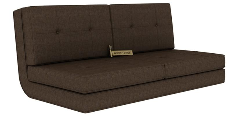 Coleman Futon Bed Two Seater Brown Online In India Wooden Street