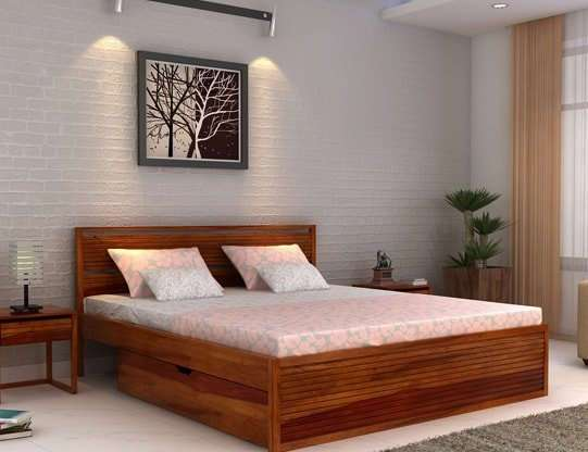 Modern King Size Bed Online 45+Designs