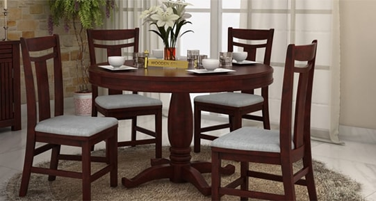 Round Dining Table Sets In Pune