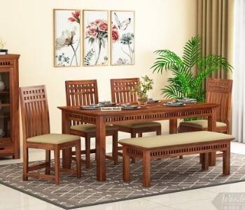 Dining Table Sets Upto 70, Wooden Dining Room Furniture Sets
