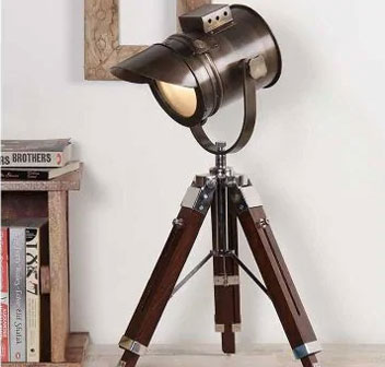 Home Decor Items Tripod Lamps