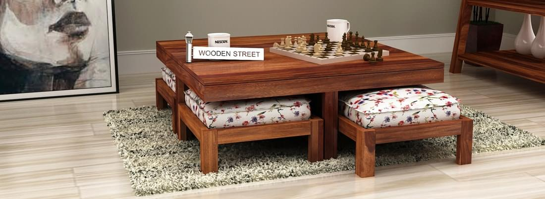 Buy Living Room Furniture Online India Starts u20b9 1,499 - WoodenStreet