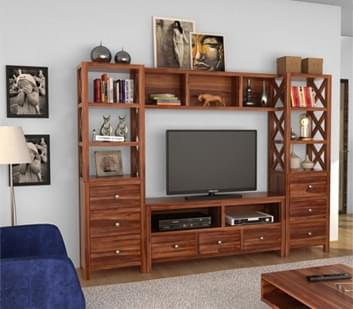 Storage furniture buy wooden storage furniture online Study room wall cabinets