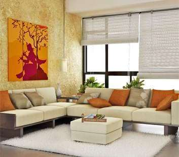 Buy living room furniture online india starts 1 499 for Bharatiya baithak designs living room