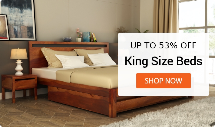 Wooden Bedroom Furniture : Buy Bedroom Furniture Online Upto 55% Off