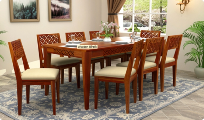 Dining Table Set Buy Wooden Dining Sets Online India Upto