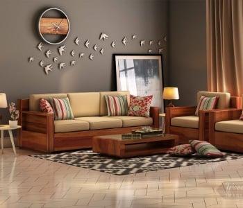 Sofa Set - Buy Sofa Set Online In India [Latest 2021 Sofas] | WoodenStreet
